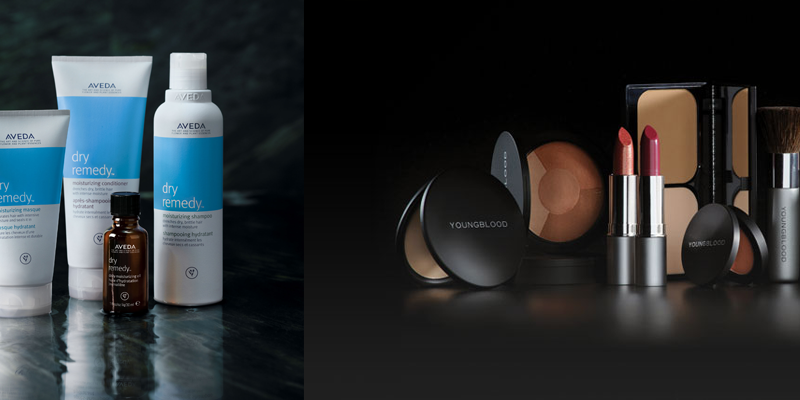 Aveda® & YoungBlood® Quality Products